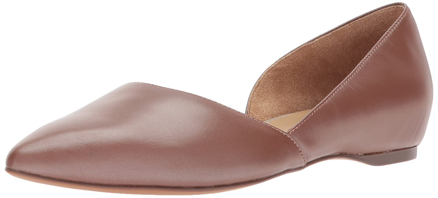 Naturalizer Women's Samantha Pointed Toe Flat B071H9B2PM 5.5 B(M) US|Caramel
