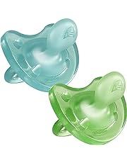 Chicco Chupete Physio Soft 'todo silicona–x2, colores diferentes
