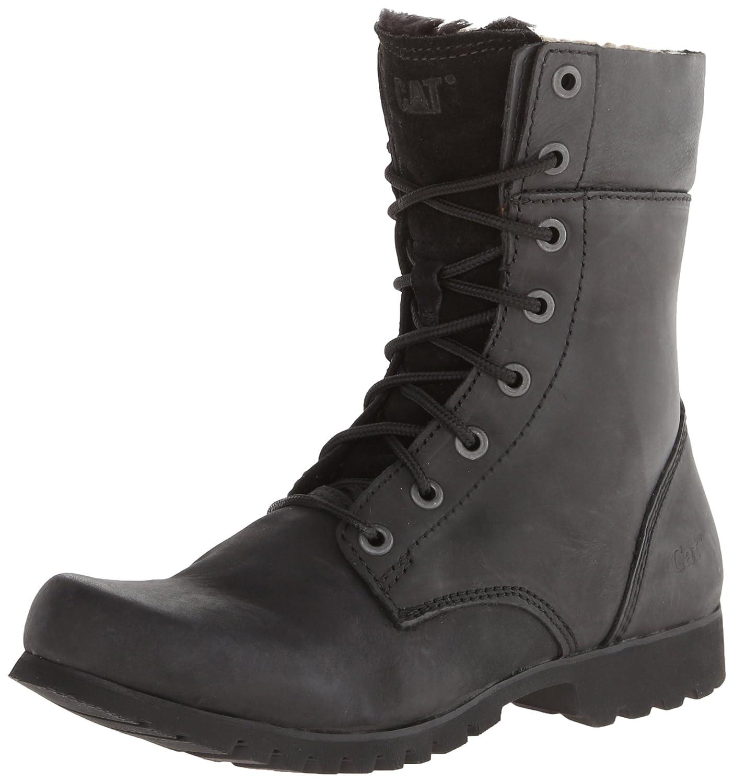 Caterpillar Women's Alexi Combat Boot B00I7VE6ZY 8 M US|Womens Black
