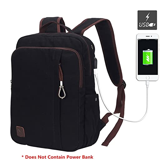 Amazon.com: Hynes Eagle Professional Slim Laptop Backpack with USB ...