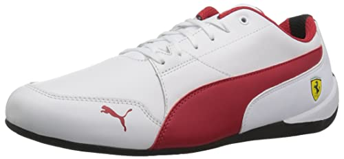 PUMA Men s Ferrari Drift Cat 7 Sneaker Red  Puma  Amazon.ca  Shoes ... 51d7fffb1