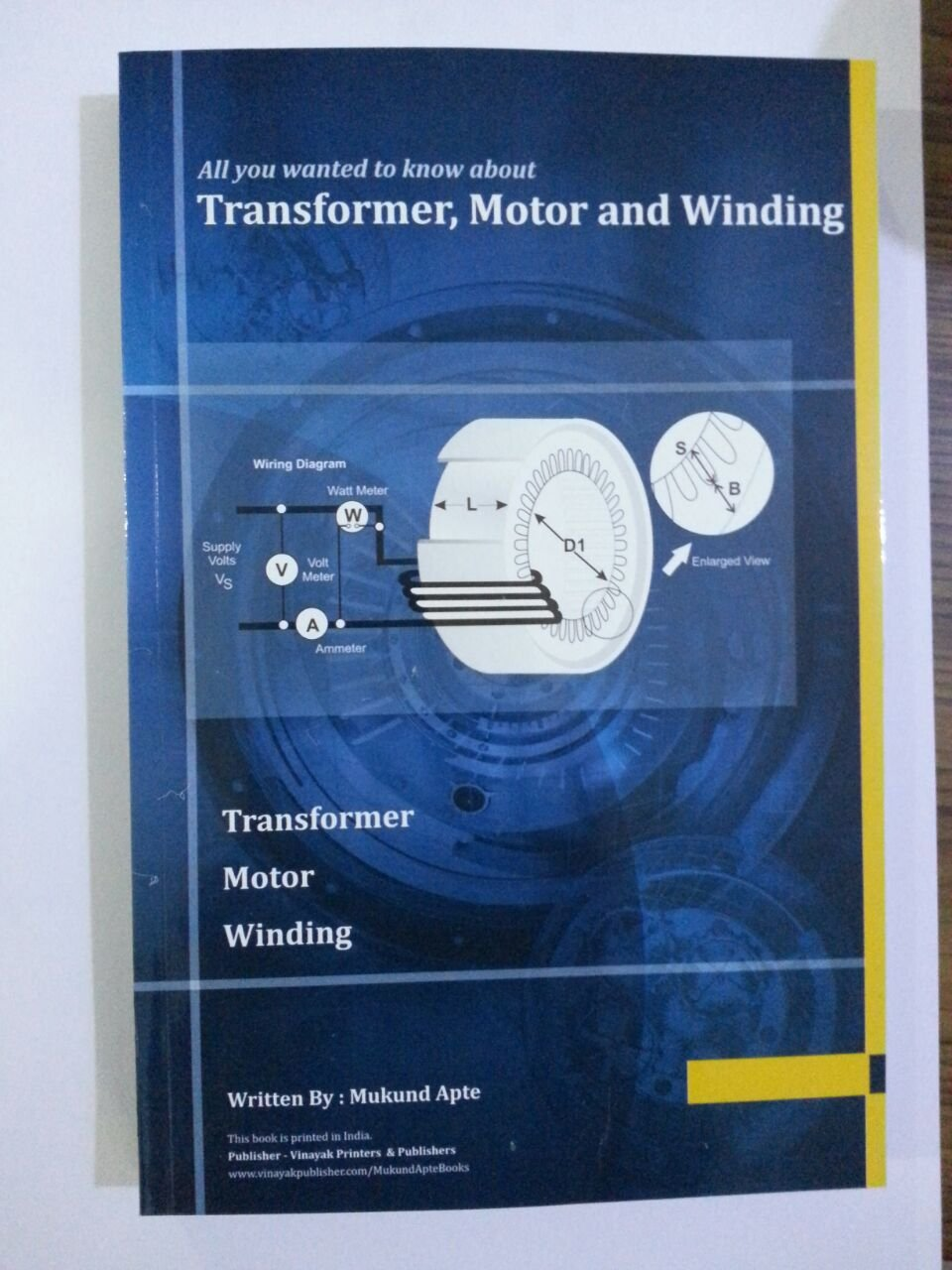 Buy All you wanted to know about Transformer, Motor and Winding Book ...