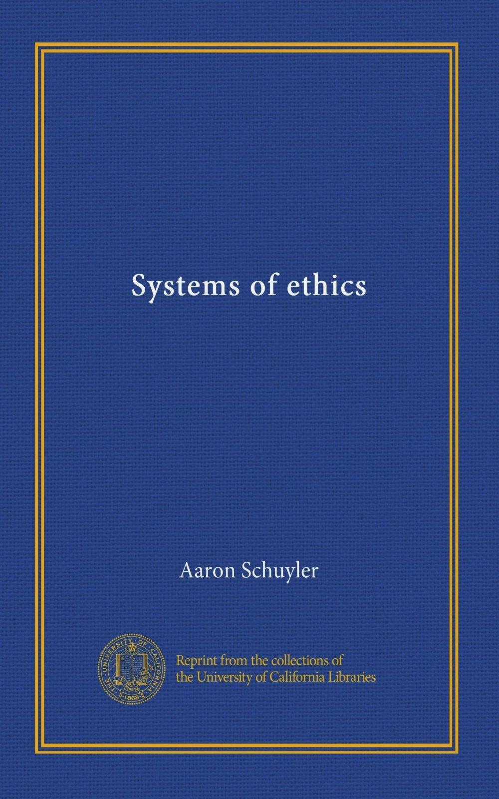 Download Systems of ethics pdf epub