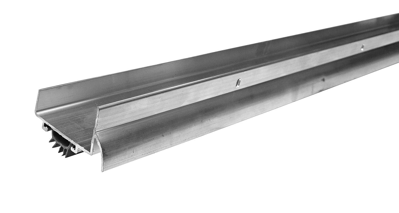 U-Shaped 2 1//4-Inch x 1 1//2-Inch x 36-Inch WJ Dennis /& Company 740 Premium U-Shaped Aluminum with Drip Cap Door Bottom Aluminum