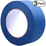Blue Painters Tape 2 Inch, 3 Pack - Painting