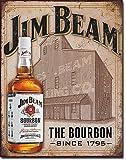 Jim Beam - Still House Tin Sign 13 x 16in