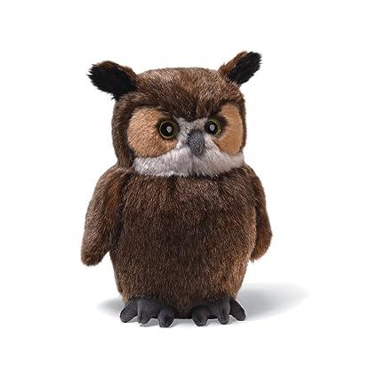 Amazon Com Gund Owl Small 11 Plush Toys Games