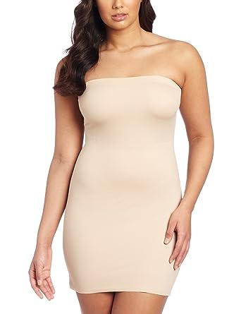 511edc27ff Dr. Rey Shapewear Womens Fused Edge Strapless Shaping Slip at Amazon  Women s Clothing store  Dr Rey S Shapewear