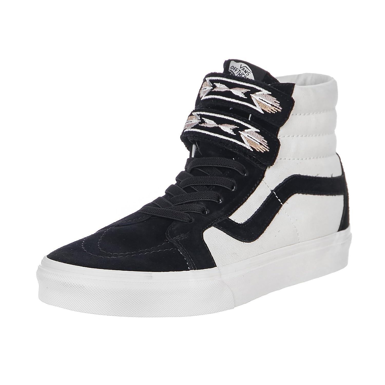 4eb75ae9d791bb Vans UA SK8-HI Reissue V Native Embroidery - Black  Amazon.co.uk  Shoes    Bags