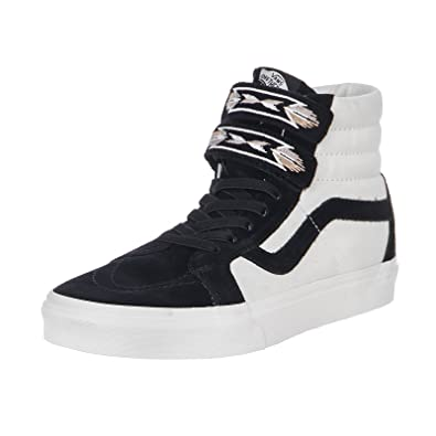 Vans UA SK8-HI Reissue V Native Embroidery - Black  Amazon.co.uk ... 23890d97a
