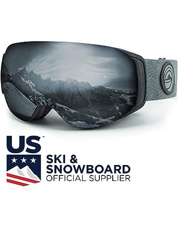 f10430ac5a WildHorn Outfitters Roca Ski Goggles   Snowboard Goggles- Premium Snow  Goggles for Men