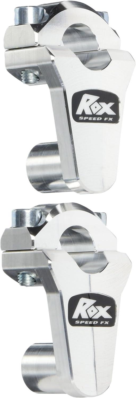 "2/"" Pivoting Bar Risers for 7//8/"" Handlebar Natural 1R-P2SSN Rox Speed FX"