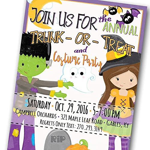 Amazon Halloween Party Invitations