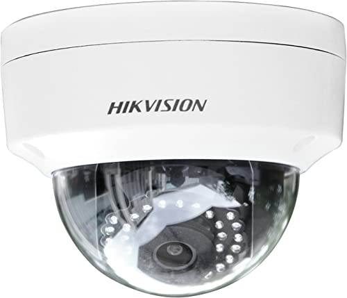 Hikvision DS-2CD2142FWD-I 4MP WDR Dome Network Camera with DC12V PoE Waterproof Day Night Motion Detection PoE 30m IR