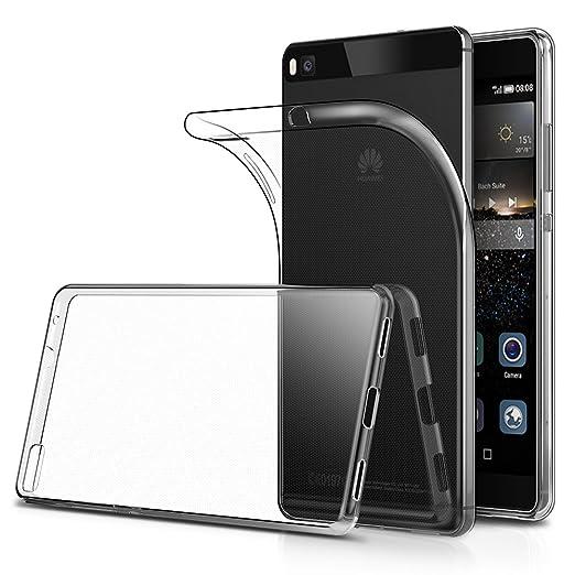 """21 opinioni per Cover Huawei Ascend P8 5.2"""" (Confezione da 2), Simpeak Custodia Chiaro Cristallo"""