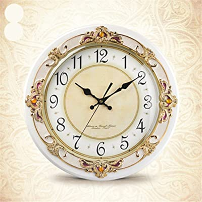 Amazon Com Geneva Clock Wrought Iron Wall Clock 14 Inch
