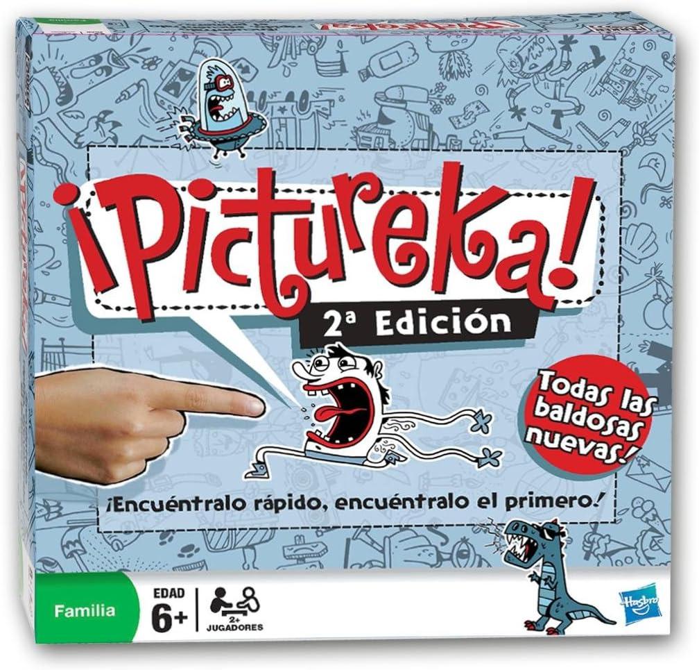 Hasbro Juegos en Familia Pictureka 17148105: Amazon.es: Juguetes y juegos