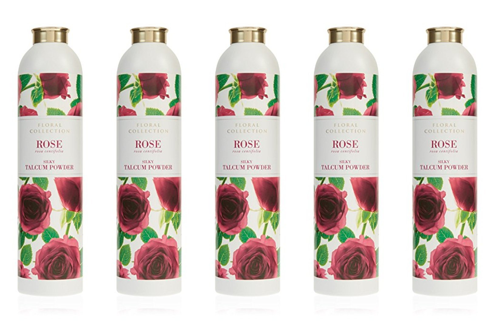 MARKS & SPENCER Rose Talcum Powder 200 g. (5 Pack)