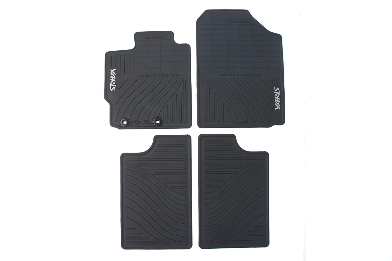 2017 toyota yaris floor mats genuine meze blog for Original toyota floor mats