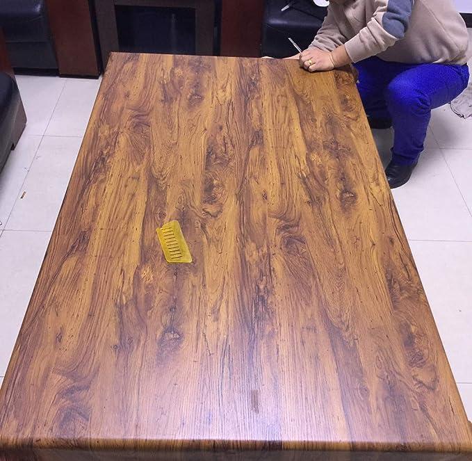 Faux Madera Grano Papel De Contacto Autoadhesivo Vinilo Autoadhesivo Estante Liner Cajón Muebles Encimera Gabinete Pegatina 40 x 200cm: Amazon.es: Hogar