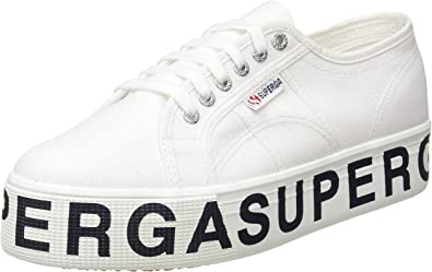 Superga Womens Shoes Sneakers with Platform 2790 COTU Outsole Lettering