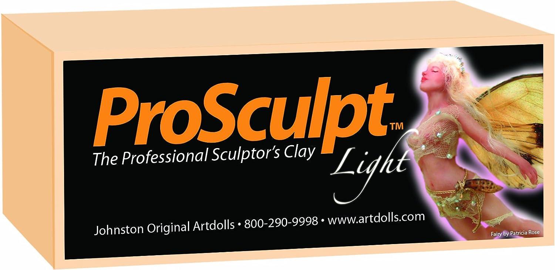 Prosculpt polymer clay fairy light 1lb bars