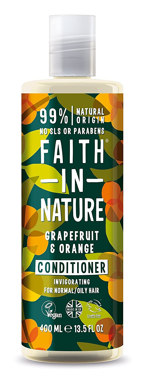 Faith In Nature Grapefruit & Orange Conditioner For Normal To Oily Hair 400ml 6/GR