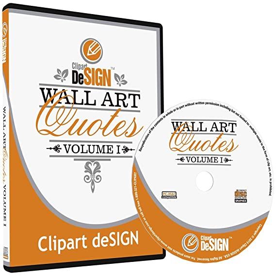 amazon com wall art decal quotes clipart vinyl cutter plotter rh amazon com TV Clip Art Blank CD