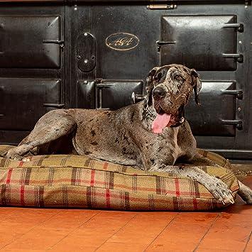 Lords & Labradors Lujo Hecho a Mano Tweed Perro Cama cojín (tamaño Extra Grande,