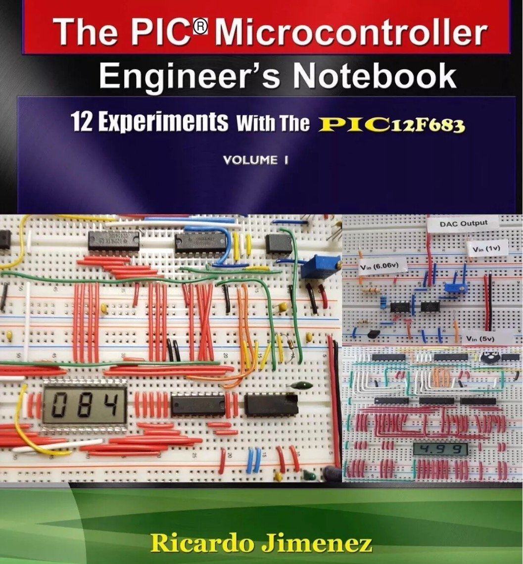 Microcontroller Engineers Notebook 12 Experiments Pic12f683 Electronic Digital Thermometer Circuit Schematic Integrated Circuits Microchips Instrumentation Analog Lcd Display Leds