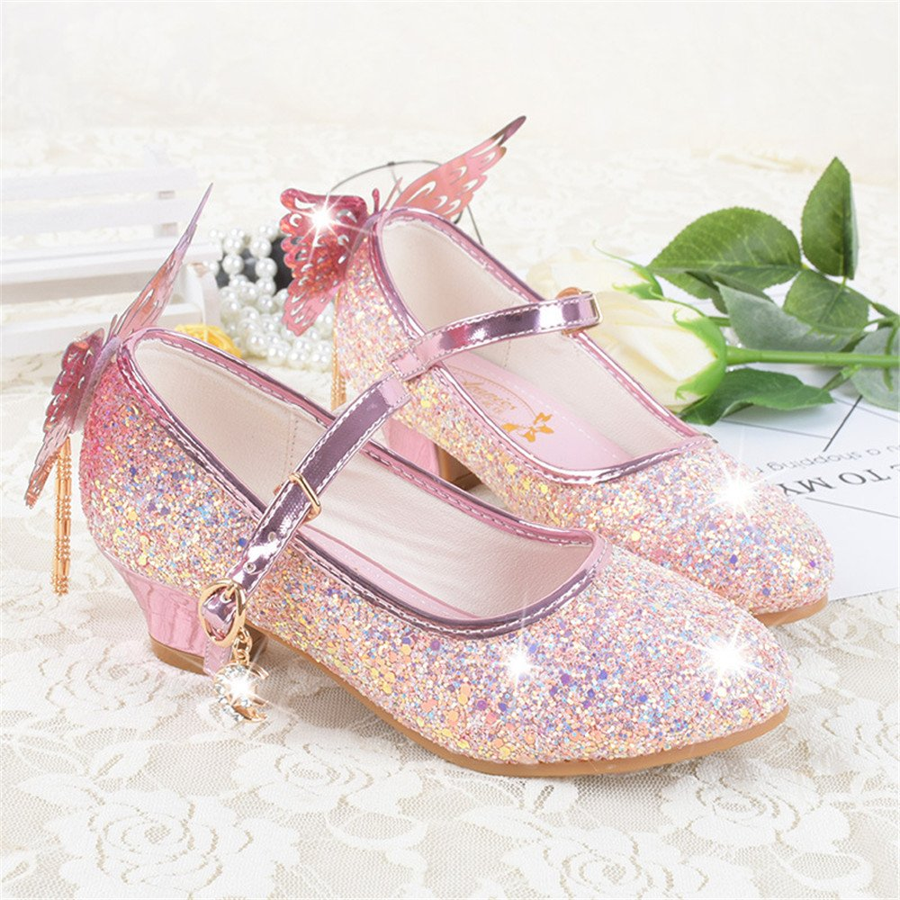 Childrens Shoes Princess Girls Sandals Large Girls Wedding Party Shoes