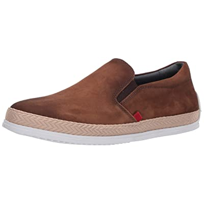 MARC JOSEPH NEW YORK Men's Leather Luxury Deck Shoe Venetian Rope Detail Boat, Tan Nubuck, 10 M US | Loafers & Slip-Ons