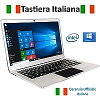 """Notebook Jumper Ezbook 3Pro Tastiera e Garanzia Italiana 13.3"""" Full HD 6GB RAM + 64GB Intel Apollo Lake N3450 Quad Core, Windows 10"""