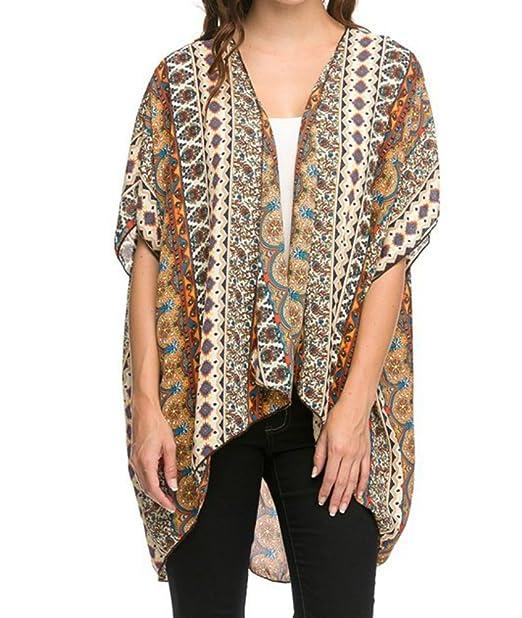 Amazon.com: De la Mujer Azteca Imprimir chaqueta de punto ...