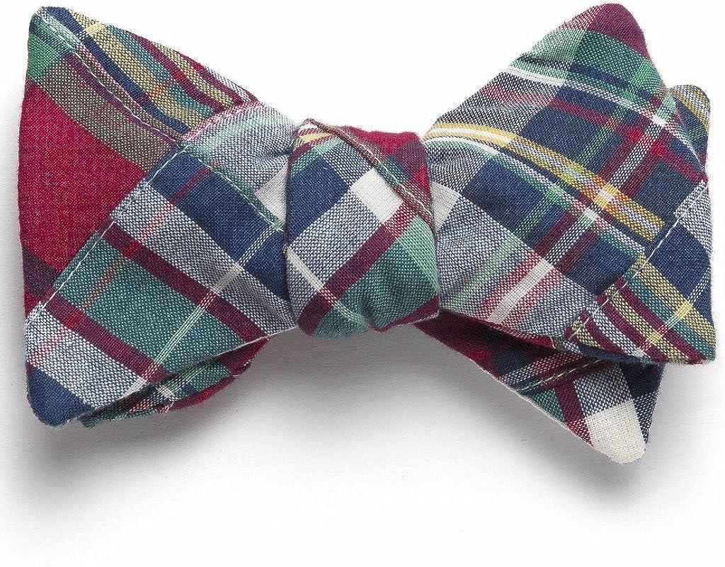 Mystic Patchwork Madras Bow Tie