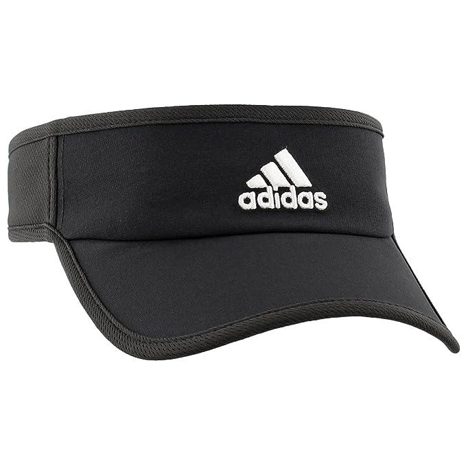 ed88a490 Amazon.com: adidas Men's Adizero II Visor, Black/White, One Size: Clothing