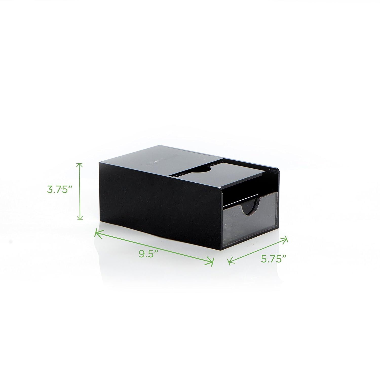 Mind Reader CAP36T-BLK Hero Coffee Pod Drawer Storage K-Cup Dolce Gusto CBTL Verismo Black One Size 2