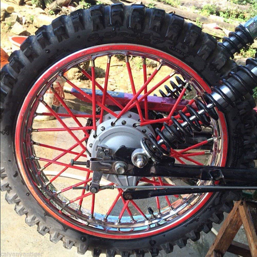 Outmoment 72tlg 17cm Spoke Tubes f/ür F650-1200GS G650X SERTAO XR CRF CRM Yamaha TTR WR XT TW DT PW RT DRZ RMX XCF XCRW EXC SXF SXR XCW EXCR Kawasaki KLX KFX