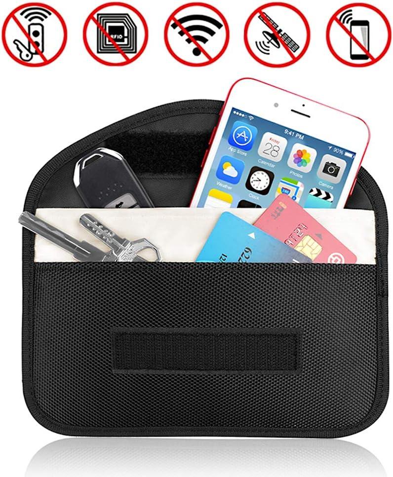 RFID Signal Blocking Bag Shielding Blocker Pocket for Car Key Cell Phone