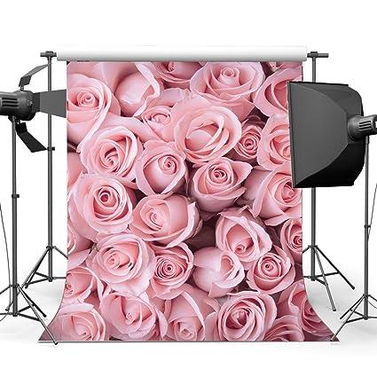gladbuy vinyl 5x7ft fresh rose flower backdrop sweet bridal shower backdrops for photography happy mothers day