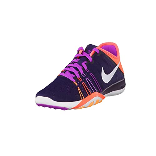 122a2ba99e Womens Nike Free TR 6 Training Shoes Purple Dynasty/Total Crimson/Purple/ White 7 B(M) US: Buy Online at Low Prices in India - Amazon.in
