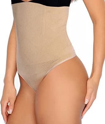 High Waist Slim Body Shaper Pants Belly Control Underwear shapewear Briefs Thong