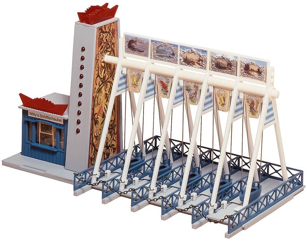 Faller 140318 Swingboats w//mtr HO Scale Building Kit