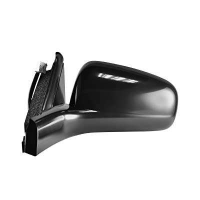Driver Side View Mirror for 2000-2005 Chevrolet Impala - Power Operated, Unpainted, Non-Folding OE Replacement - GM1320218: Automotive