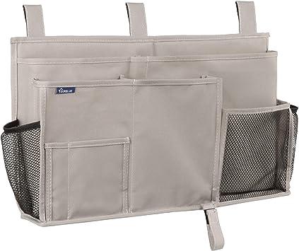 Bed Holder Organizer Container Bedside Caddy Hanging Storage Bag Pocket Cxz
