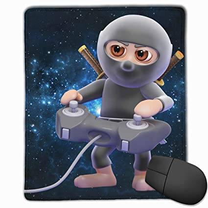 Amazon.com: Gaming Mouse Pad with Stitched Edge Ninja ...
