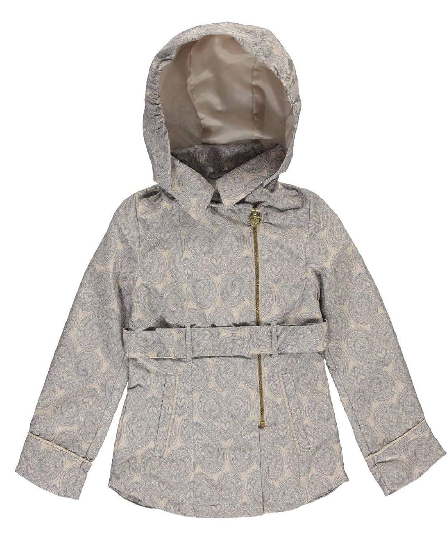 Jessica Simpson Big Girls'Prescott Hooded Coat - Khaki,