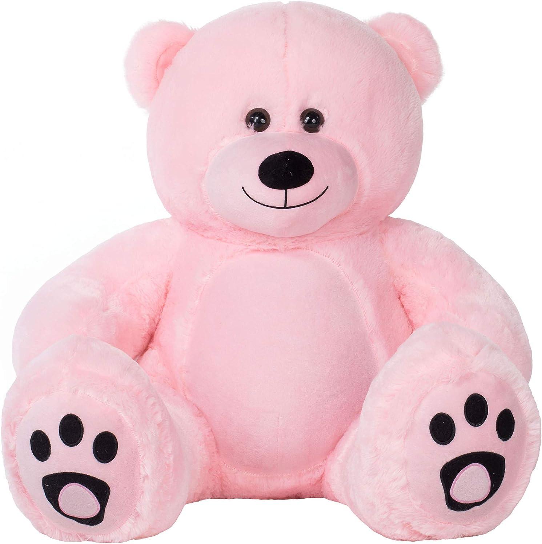 Cute Giant Pink Teddy Bear 47 Huge Stuffed Animal Toy Girlfriend Soft Gift