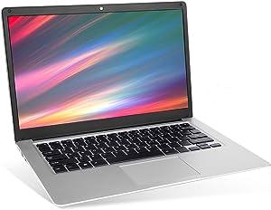 "2020 15.6"" Laptop - Intel Quad-Core Atom x5 E8000 Processor - 4GB Memory - 64GB eMMC -10000mAh Large Capacity Battery Endurance- Ash Silver Keyboard Frame"