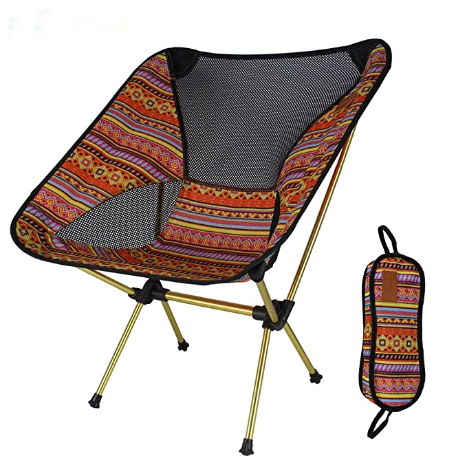 Mer Pioneer Portable Chaise de camping légère Chaise pliante